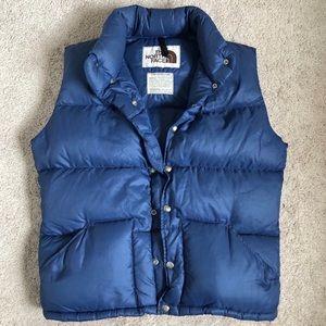 The North Face Vintage 70s Brown Label Puffer Vest